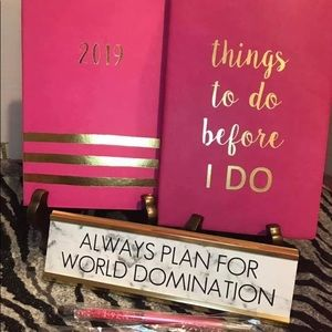 The Perfect Wedding Countdown Glam Planner Kit